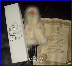 1995 Lara's White Mink LE 500 Barbie MIB