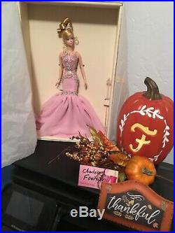2007 BFMC The Pink Soiree Silkstone Barbie NRFB -Platinum Label LE999
