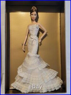 2008 Vera Wang Bride The Romanticist Barbie Doll Nrfb Gold Label L9652