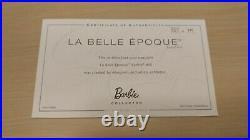 2011 NRFB Barbie La Belle Epoque Paris Fashion Doll Festival Platinum Label /375