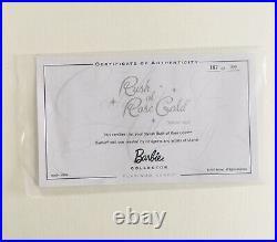 2012 NUDE RUSH OF ROSE GOLD PLATINUM LABEL BARBIE MATTEL BFMC in Box