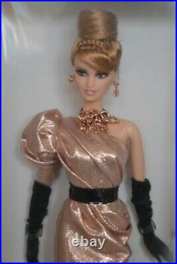 2012 Platinum Label Fan Club Excl RUSH OF ROSE GOLD Barbie 823/999 WithShipper