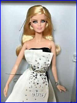 2013 Beaded Gown Black & White Collection Barbie Bfc Nrfb Platinum Label