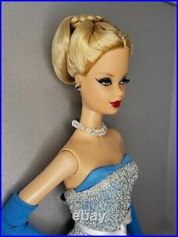 2013 Madrid Premier Beauty Convention Barbie Doll Platinum Label Mattel Nrfb