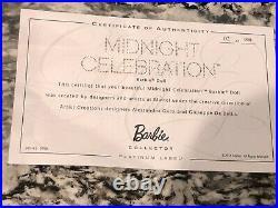 2014 Barbie Convention Midnight Celebration Platinum Label BDH43 NRFB