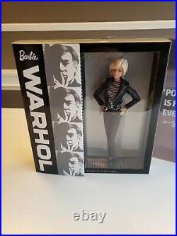 2015 Andy Warhol Platinum Label Barbie Doll