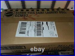 2018 Yves Saint Laurent Barbie Doll Platinum Label Collection. NRFB GCM97