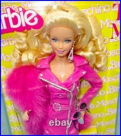 2019 Met Gala Moschino Barbie Doll NRFB Platinum Label Caucasian