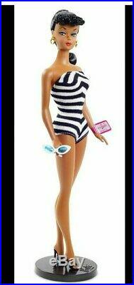 2020 Barbie Convention Brunette Silkstone Number 1 Mattel 75th Anniversary AA