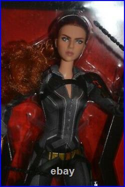 2020 Barbie Sig Black Label Marvel BLACK WIDOW BLACK SUIT Barbie NEW RELEASE