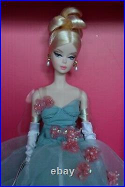 2020 Platinum Silkstone BFMC 20th Anniversary GALA'S BEST Barbie NEW Dented Box