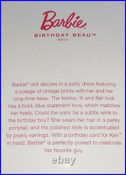2021 Barbie Convention Redhead Birthday Beau Barbie NRFB Vintage Look LE of 2500