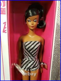 60th Sparkles 2019 Convention Barbie Doll Aa Platinum Label Mattel Gft19 Nrfb