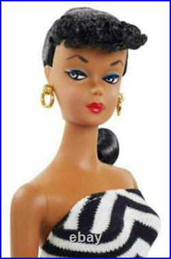 African-American Silkstone #1 Reproduction 2020 Barbie Convention Doll AA