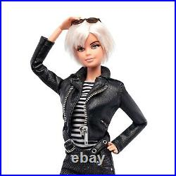 Andy Warhol Pop Art Is For Everyone Barbie Doll Platinum Label Mattel Dgw53 Nrfb