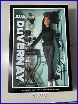 Ava DuVernay Barbie Doll 2015 Platinum Label