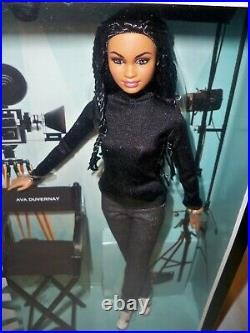 Ava DuVernay Barbie Doll 2015 Platinum Label NRFB DPP89 Mattel Read