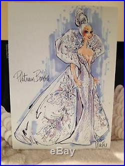 BARBIE DOLL BOB MACKIE PLATINUM COLLECTION 3rd in 1991 Series #2703 NIB