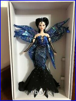 BARBIE DOLL FLIGHT OF FASHION PLATINUM ONLY 5,000 PRODUCED ALL NUMBERED WithCOA