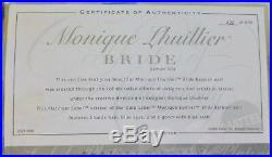 BARBIE MONIQUE LHUILLIER BRIDE 2006 NRFB PLATINUM LABEL J0975 Lim. 999 pieces