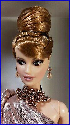 BFC 2011 Rush of Rose Gold Barbie Platinum Label Mint NRFB With Shipper box