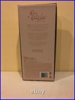 Barbie 2012 Rush of Rose Gold Platinum Label Doll BFCD Robert Best New