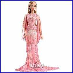 Barbie Blush Fringed Gown Doll -Platinum Label