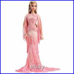 Barbie Collection Blush Fringed Barbie Doll Platinum Label NRFB in Shipper