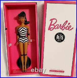 Barbie Convention 2020 Silkstone 75th Anniversary African American & Brunette