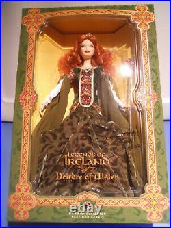 Barbie DEIRDRE OF ULSTER Legends of Ireland SIGNED Platinum Label 2007