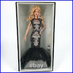Barbie Doll CGT31 Classic Evening Gown Platinum Label Fan Club Exclusive 2016