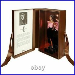 Barbie FPV66 Yves Saint Laurent Paris Evening Gown Platinum Label Shipper LE