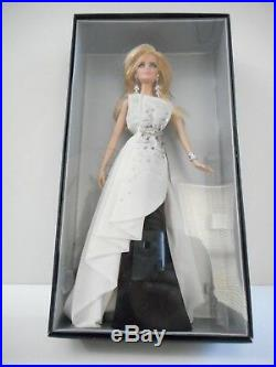 Barbie Fan Club Exclusive Platinum Label Beaded Gown Black & White Collection
