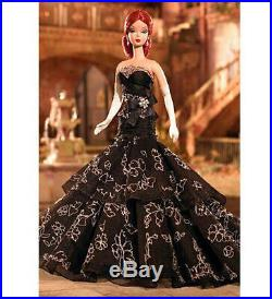 Barbie Fashion Model Silkstone DAHLIA 2006 Redhead Platinum Edition NRFB