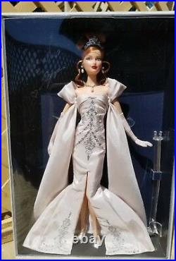 Barbie Midnight Celebration Convention Lara doll, Red Hair SIGNED BY ARTISTS