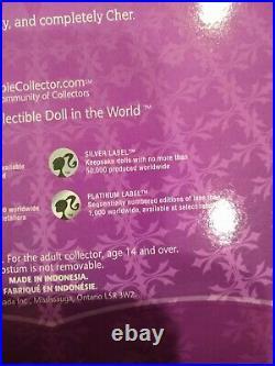 Barbie Ringmaster Cher Platinum Label Barbie Doll BRAND NEW NRFB FREE SHIPPING
