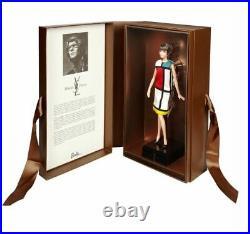 Barbie Signature Platinum Label. Yves Saint Laurent Barbie Doll 3 Doll Set