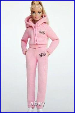 Barbie Signature X Zara Doll 2021 Pink Sweats NRFB Only 300 Made NEW Blonde