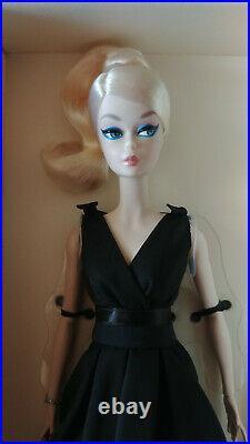 Barbie silkstone classic black dress SDC Spanish convention 2016 NRFB! VHTF