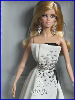 Beaded Gown Barbie Platinum Label (X8266) NIB withShipper