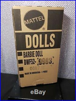 Blush Fringed Gown Barbie Doll Bfc Exclusive Platinum Label Mattel Dwf52 Nrfb