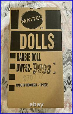 Blush Fringed Gown Barbie Doll DWF52 (Never Removed From Shipper)