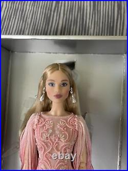 Blush Fringed Gown Barbie Doll Platinum Label Collection