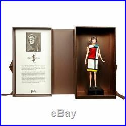 Brunette Barbie Platinum Label Yves Saint Laurent NRFB in Shipper LE 1000 GCM97