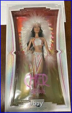 CHER Native American Indian Bob Mackie Black Label Barbie Doll. L3548 (NRFB)