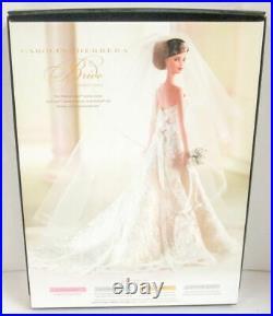 Carolina Herrera Bride BRUNETTE Barbie Doll (Platinum Label) (NEW)