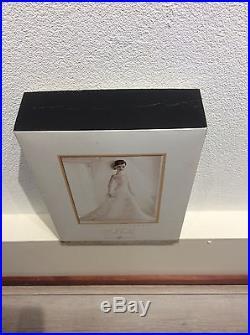 Carolina Herrera Bride Barbie brunette hair NRFB platinum label LE 999