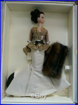 Chataine Silkstone Barbie FAO Schwarz LE 600 NIB NRFB withCOA
