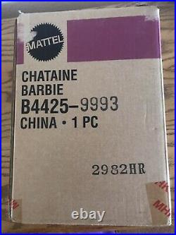Chataine Silkstone Barbie LE 600 NRFB withCOA In Original Shipper From FAO