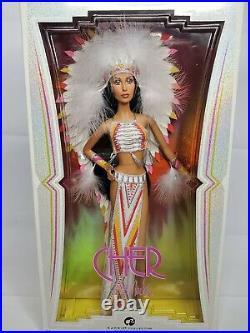 Cher Barbie Bob Mackie Native American Style Barbie Collector Black Label 2007